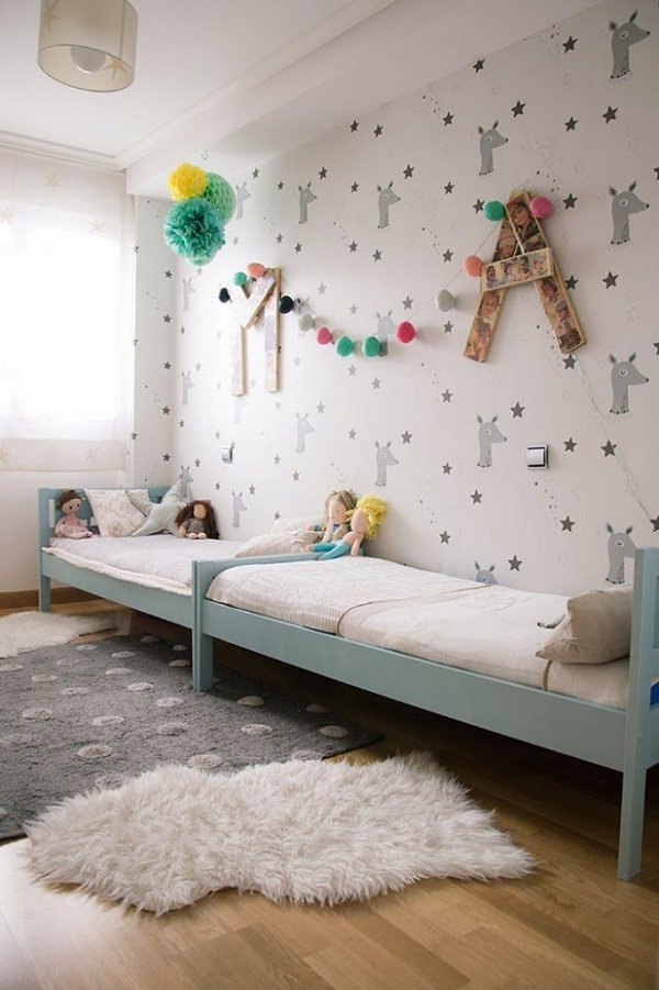 Whimsical indie bedroom