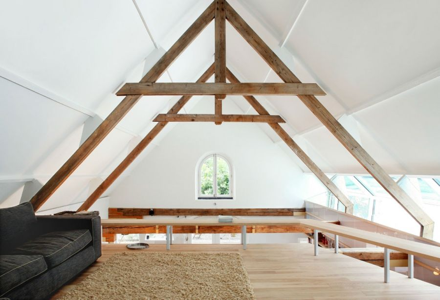 attic living space idea