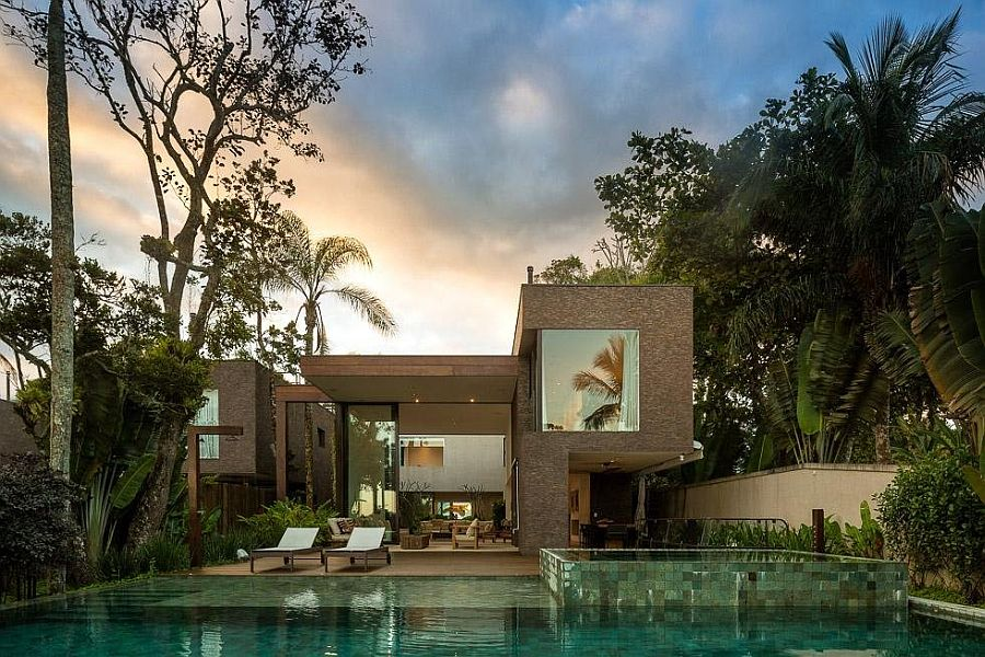 beautiful modern home brazil