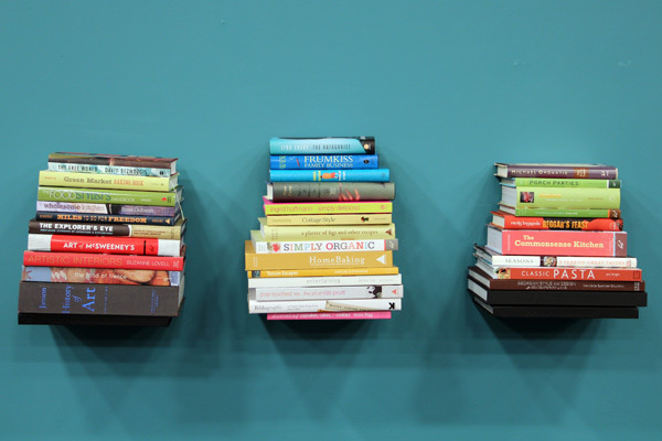 invisible wall bookshelves
