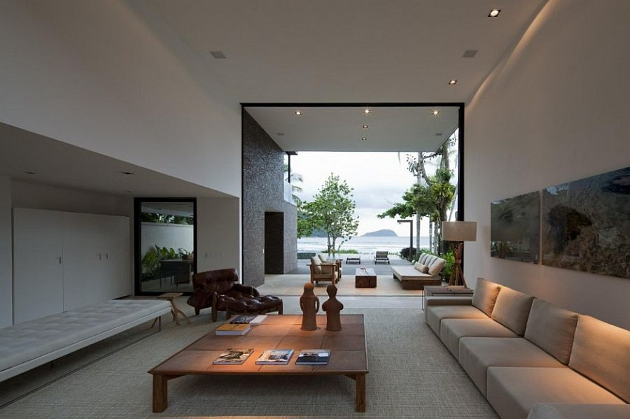 large relaxing living room