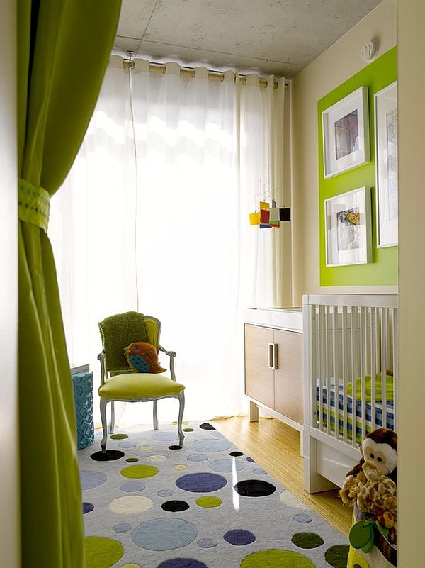 mint green baby room color scheme