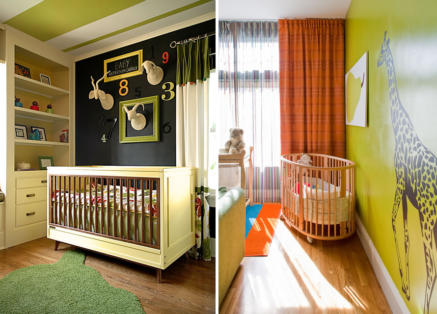 mint green nursery color scheme