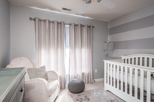shades of grey nursery room Unique and Inspiring Colors for Nurseries
