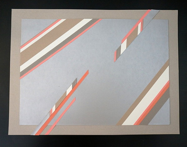 DIY paper strip project