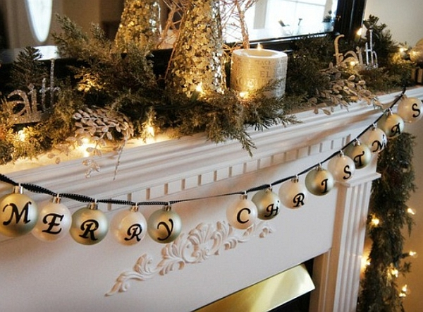 A closer look at the merry decorations!