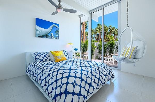 A perfect decor idea for small bedrooms