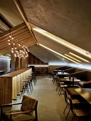 ATTIC Bar in Minsk by Inblum Architects