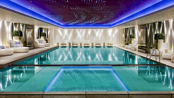 Inside Pool 50+ indoor swimming pool ideas: taking a dip in style