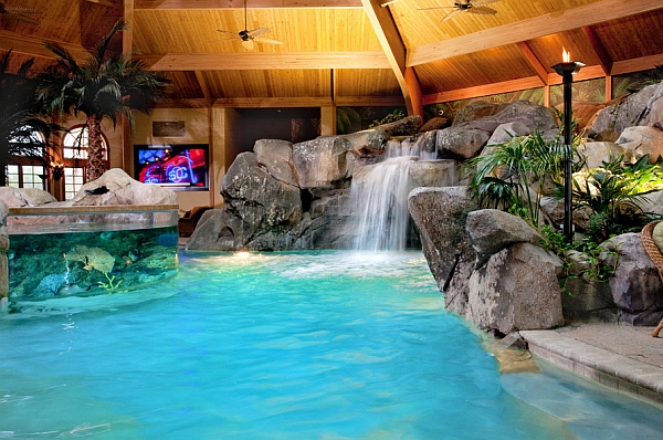 Another look at the indoor tropical paradise