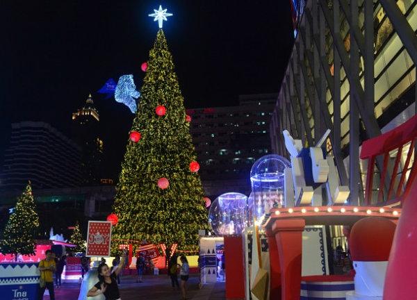 Bangkok Christmas tree