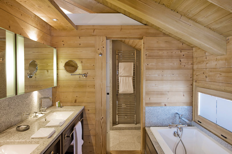 Bathroom of French Chalet
