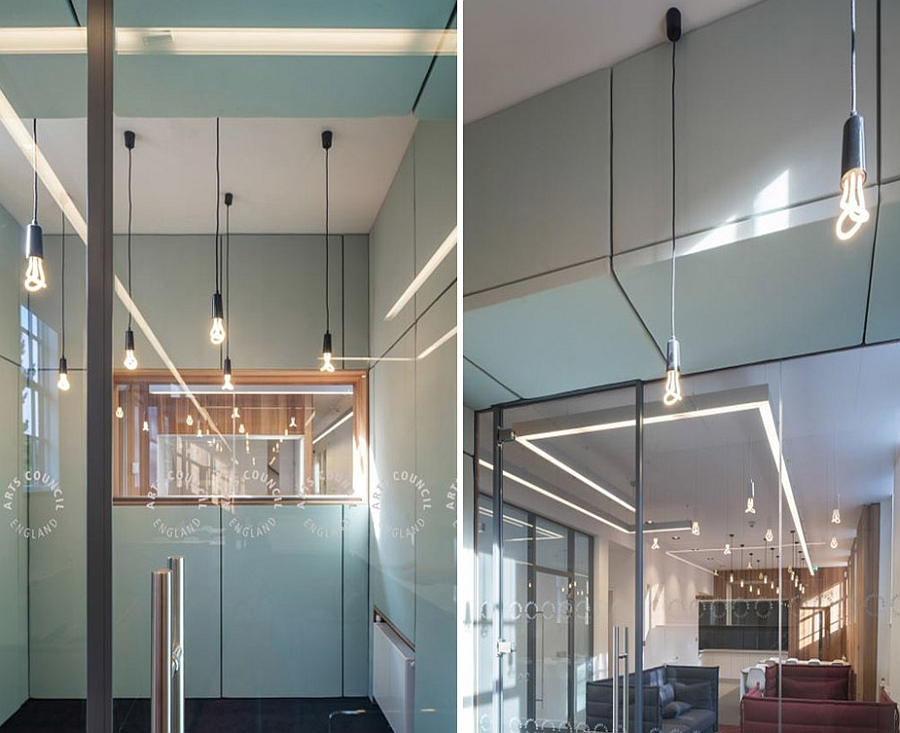 Bright and neutral interiors of Arts Council England Office