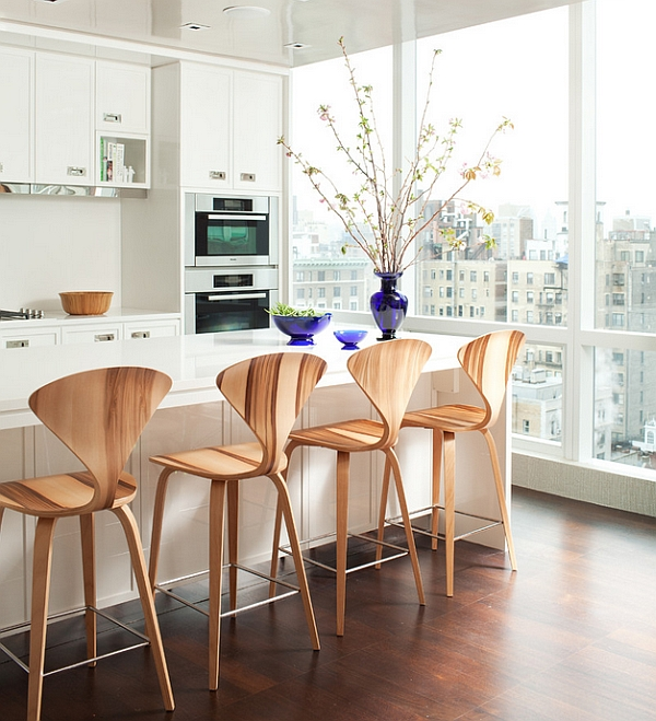 Captivating design of the Cherner barstools