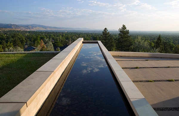 Exquisite Reflecting Pools For A Fluid And Tranquil Home!