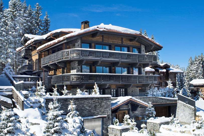 Chalet Edelweiss in Courchevel 1850 Luxury Resort
