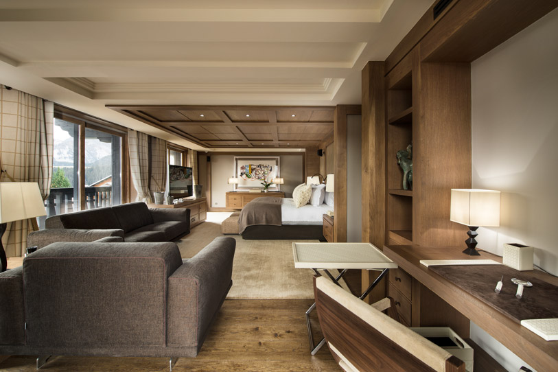 Chalet Edelweiss most luxurious chalet in Courchevel