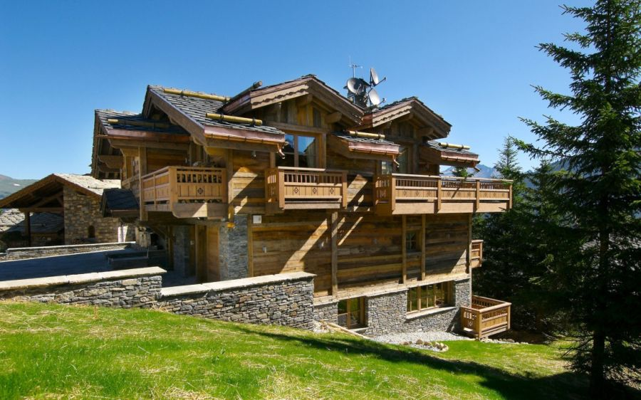 Chalet Pearl in the summer months