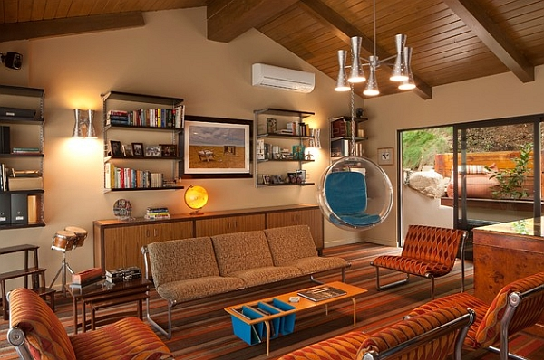 Change the cushions in the Bubble Chair to instantly alter the accent color