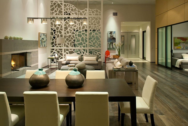 view in gallery charco design how wall partitions divide your home in harmony - Interior Design On Wall At Home