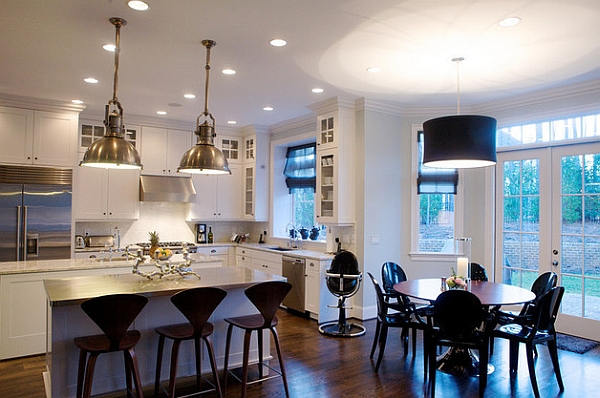 view in gallery cherner counter stools are perfect for the lower kitchen counters