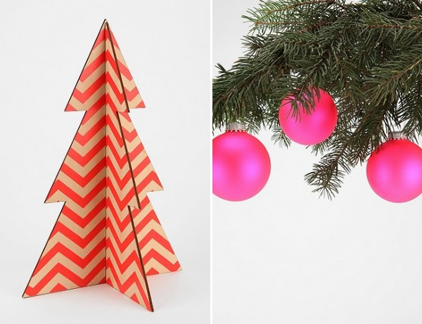 Colorful holiday decor