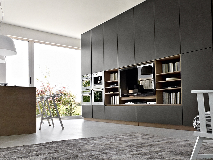 Combining smart living space with the kitchen