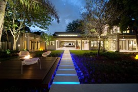 A Trail of Lights To Surround the Home in Brilliance