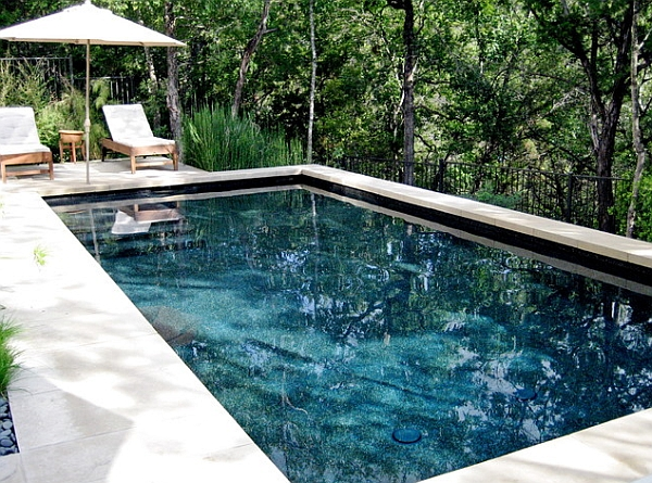 Create a fabulous personal retreat inside your home with reflecting pools