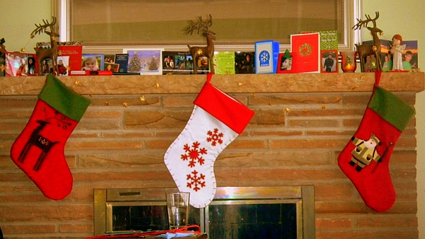 Decorate the mantel with family photographs