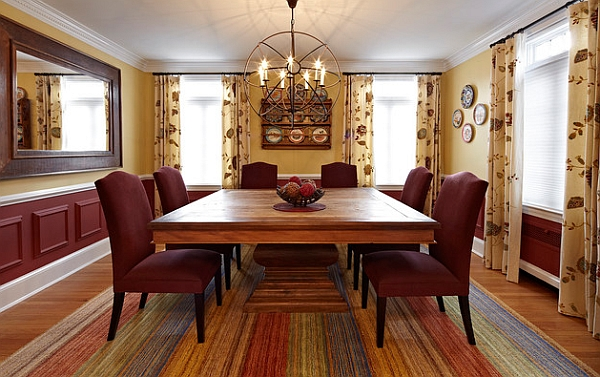 Dining room doubles as conference space