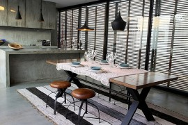 Lavish Portuguese Villa Charms With Crafty Use of Concrete