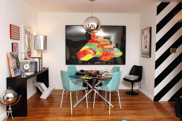 Dining room of interior designer Rafael de Cardenas