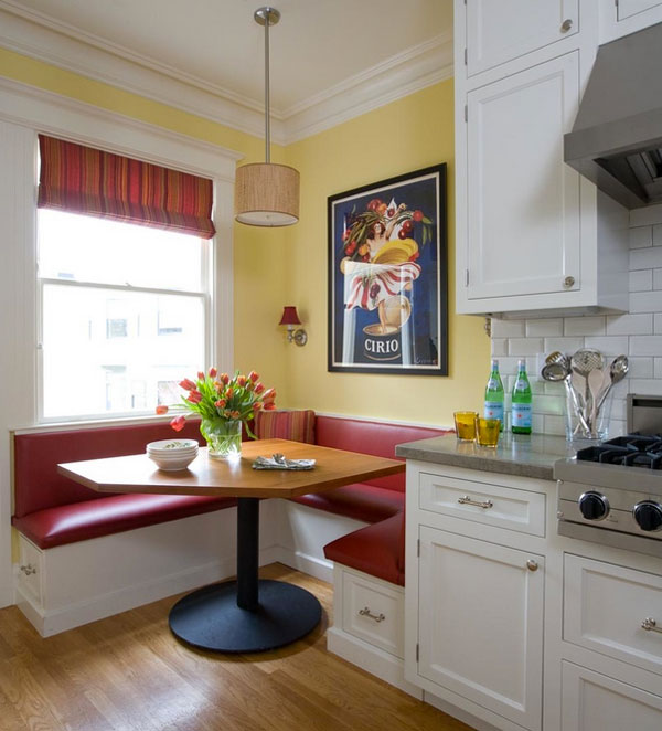 Stylish kitchen nook design ideas Breakfast nook bar ideas