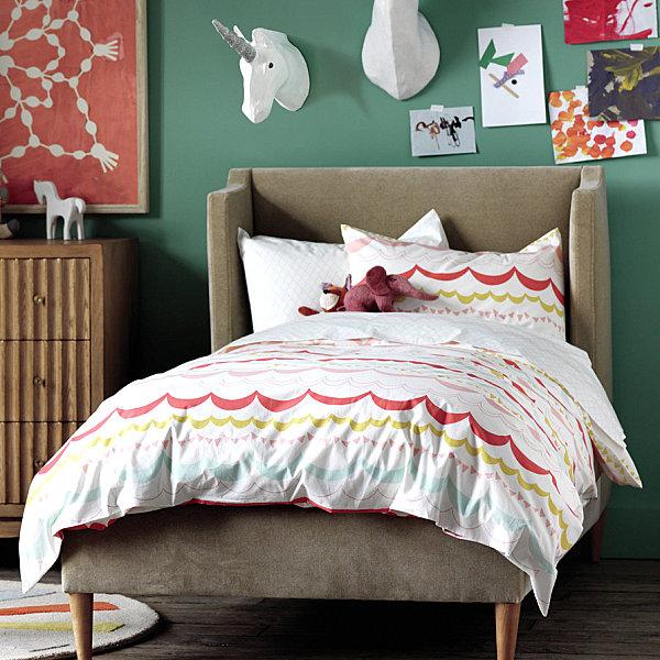 Duvet set from dwellstudio decoist - Cool bedroom ideas for girls ...