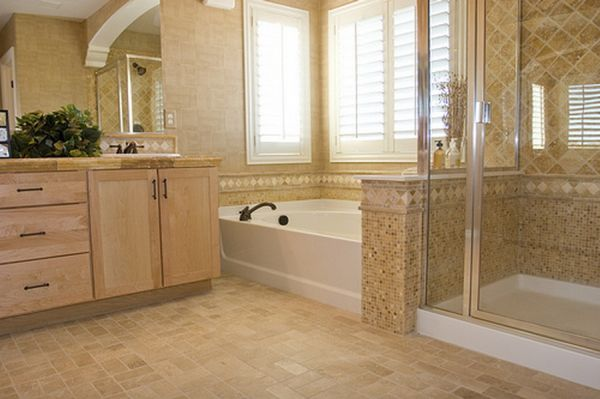 Easy bathroom floor tiling tips