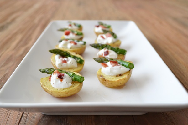 Easy potato canape recipe
