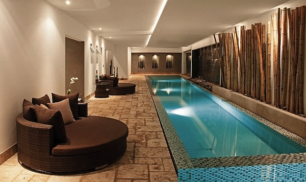 Indoor Pool Designs indoor swimming pool design ideas for your home View In Gallery Exquisite Indoor Swimming Pool Design