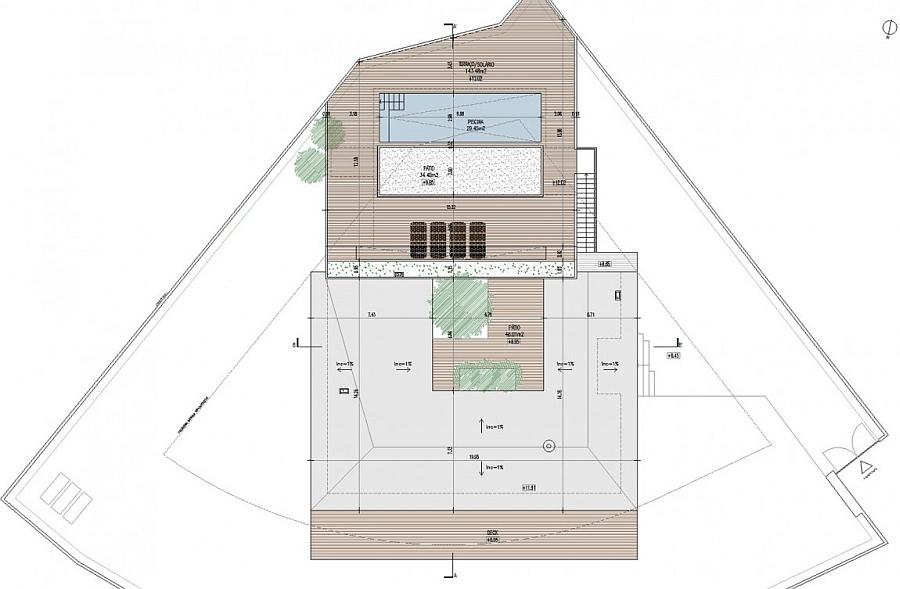 Floor Plan of Casa do Pego