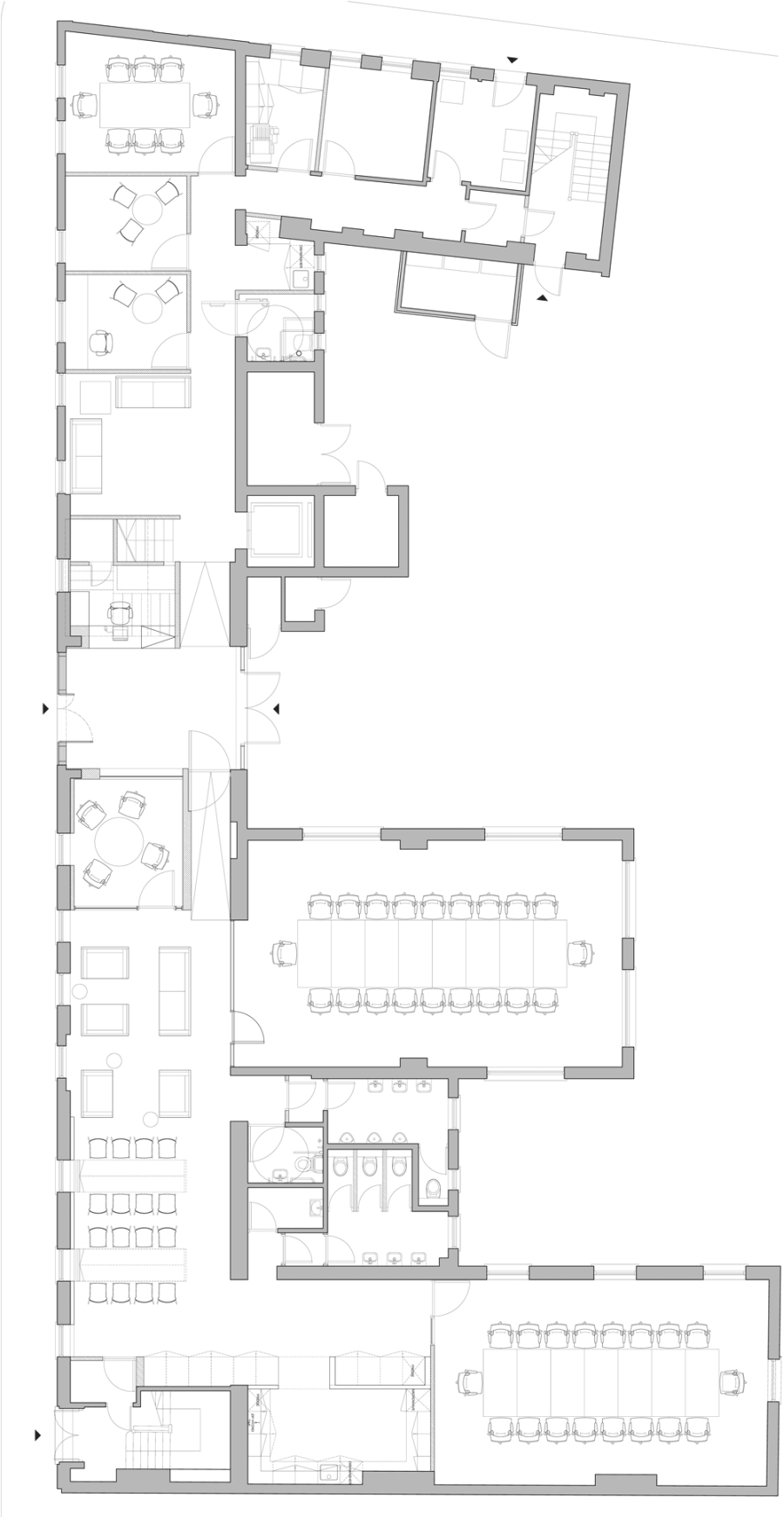 Floor plan of Arts Council England