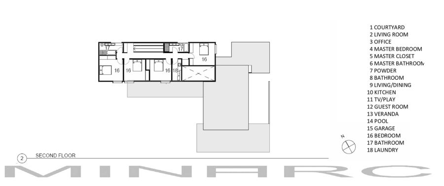 Floor plans for modern house