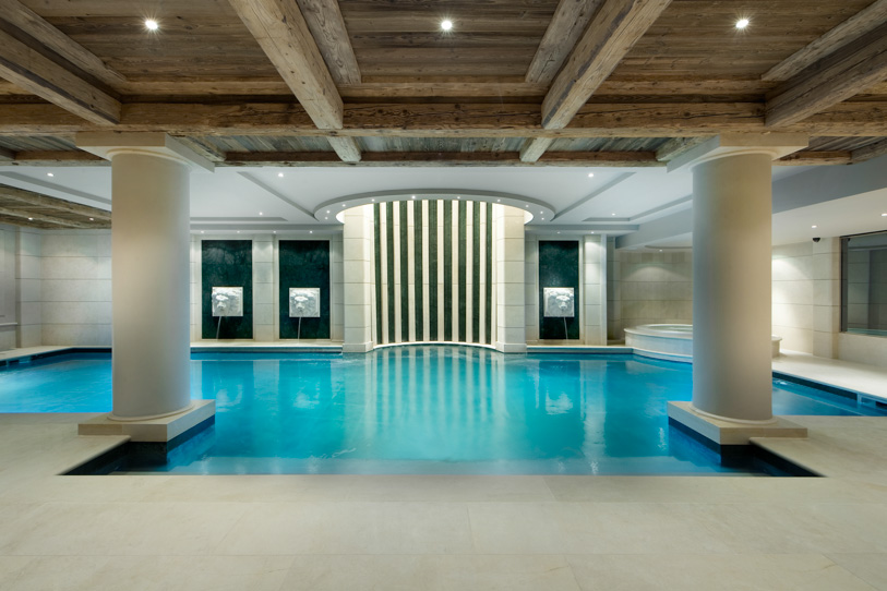 French alps Chalet Edelweiss indoor pool