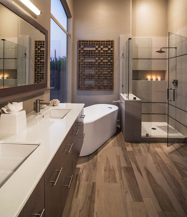 Bathroom Ideas: Unique Bathtub And Shower Combo Designs For Modern Homes