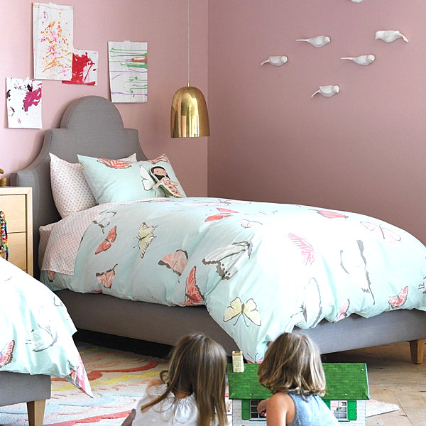 Girls' bedding from DwellStudio