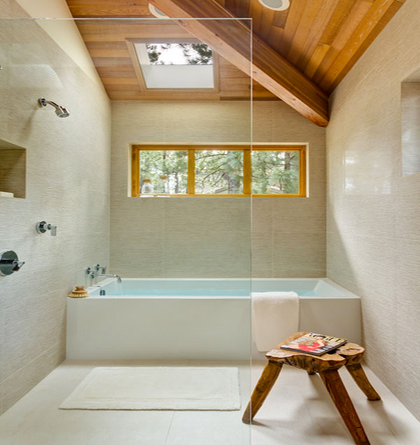 Unique bathtub and shower combo designs for modern homes for Bathroom tub designs