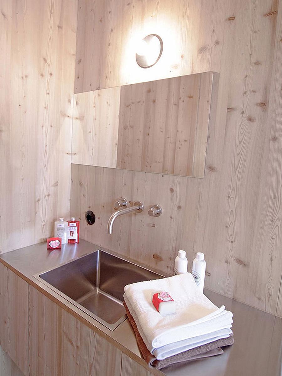 Holiday getaway interior bathroom