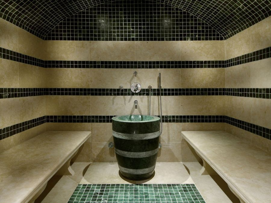 Hot steam room at Chalet Pearl
