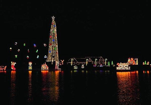 Idaho resort Christmas tree
