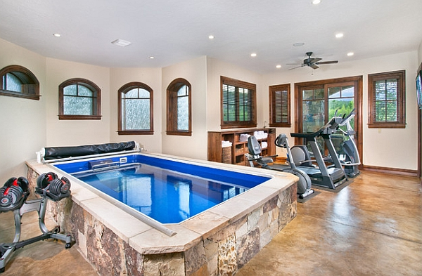 50 indoor swimming pool ideas taking a dip in style for Swimming pool room decor