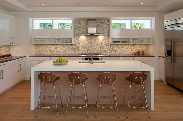 Inexpensive and stylish bar stools for the kitchen